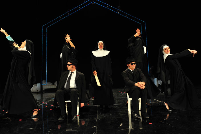 Blues Brothers - © Theater Ingolstadt - Choreogr. A.Taubmann